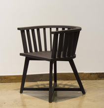 Load image into Gallery viewer, ARKA Living Solid wood black collection chair - handmade