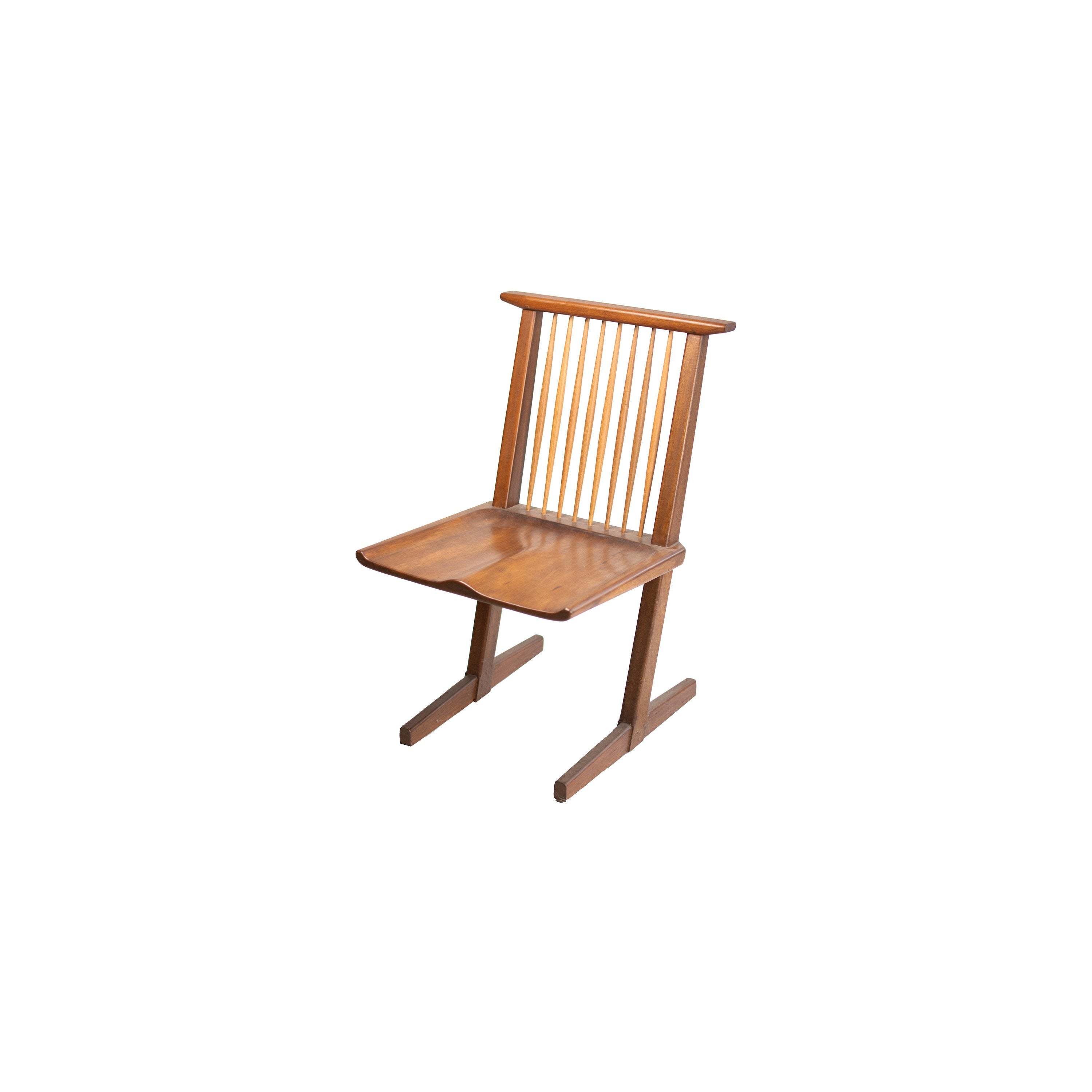 Solid wood collection chair - handmade dining, living or entry room