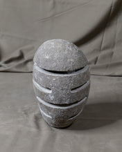 Load image into Gallery viewer, River Stone Egg Lantern , Modern Garden Candle Lighting #4 (COMING IN THE END OF AUGUST)