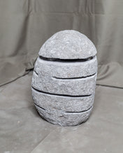 Load image into Gallery viewer, Large River Stone Egg Lantern , Modern Garden Candle Lighting #9