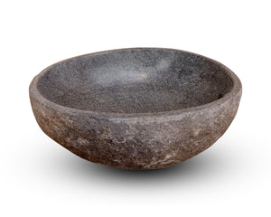 Spa Natural River Stone Bowl | Flower or Bird Bowl #2 (COMING IN THE END OF AUGUST)