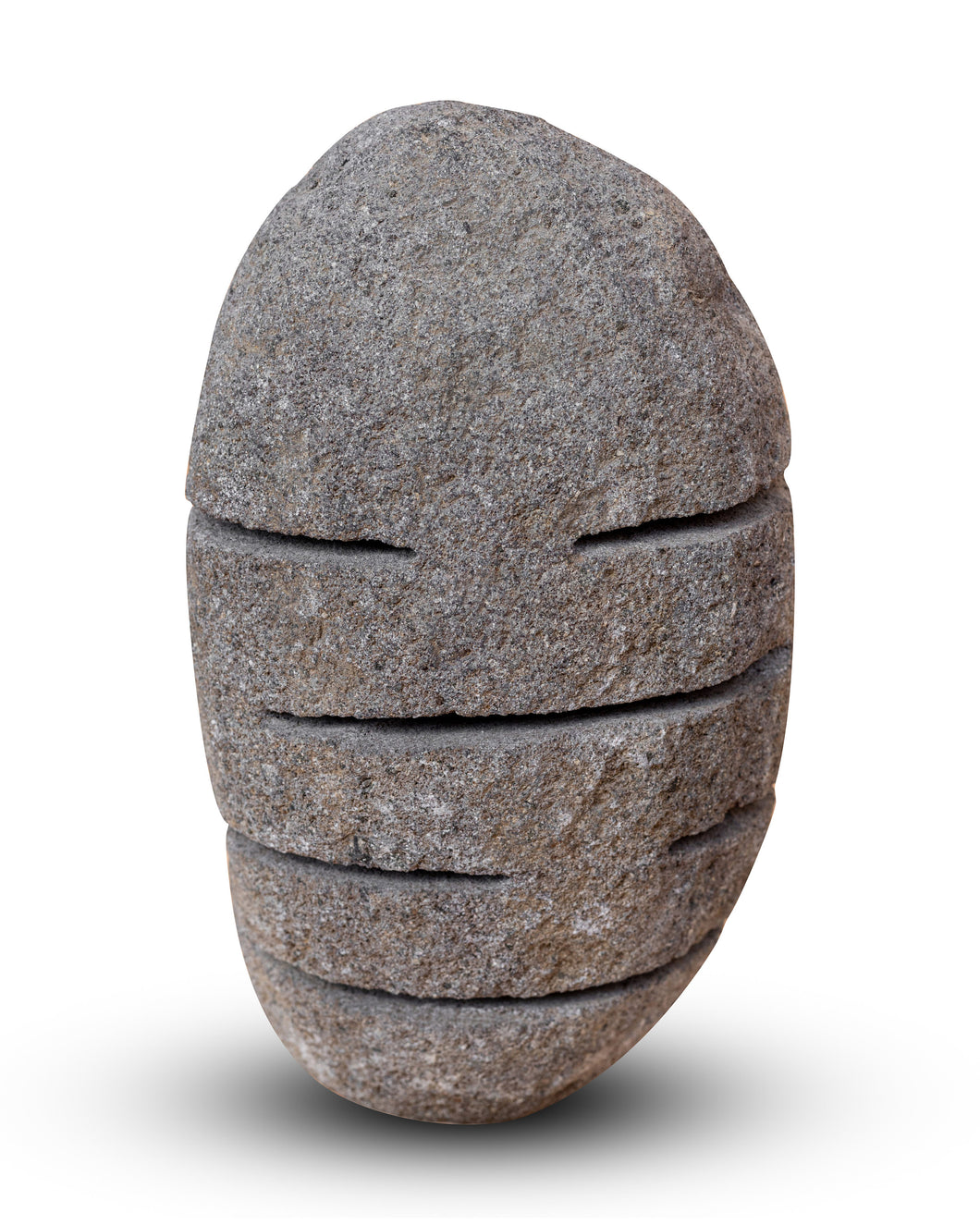 River Stone Egg Lantern , Modern Garden Candle Lighting #R2 (COMING IN THE END OF AUGUST)