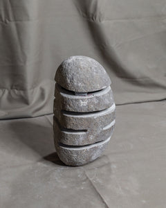 River Stone Egg Lantern , Modern Garden Candle Lighting #4 (COMING IN THE END OF AUGUST)