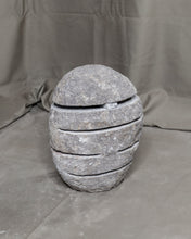 Load image into Gallery viewer, River Stone Egg Lantern , Modern Garden Candle Lighting #9