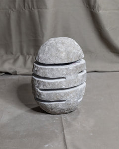 River Stone Egg Lantern , Modern Garden Candle Lighting #10 (COMING IN THE END OF AUGUST)