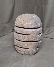 Load image into Gallery viewer, Large River Stone Egg Lantern , Modern Garden Candle Lighting #5