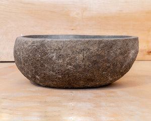 Spa Natural River Stone Bowl | Flower or Bird Bowl #3 (COMING IN THE END OF AUGUST)