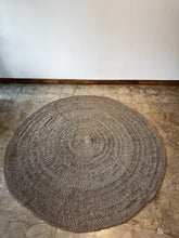 Load image into Gallery viewer, Round Handwoven Pandan Rug, Natural material for natural looks