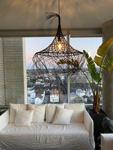 Menorca Rattan Woven Pendant Light | Simple and Natural Lamp with lIghting FIxtures
