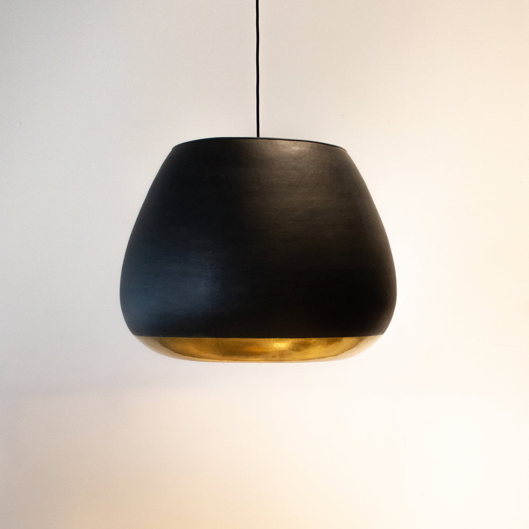 Vintage Black and Gold Bronze Pendant Light | Simple and Natural Lamp Boho