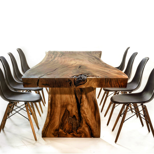 Houston Live Edge Solid Wood Table