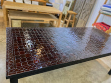 Load image into Gallery viewer, Extra Large Zellige Tile Mosaic Rectangular Dining Table, VARIES IN SIZE AND COLOR
