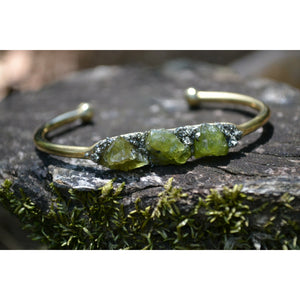 Peridot Bracelet- August Birthstone Bracelet- Gift for August Birthday