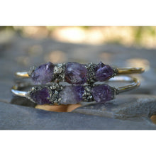 Amethyst Bracelet for Women, Natural Amethyst Birthstone Jewelry