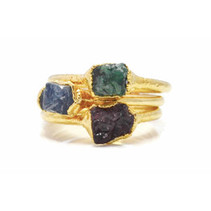 Stacking Birthstone Rings