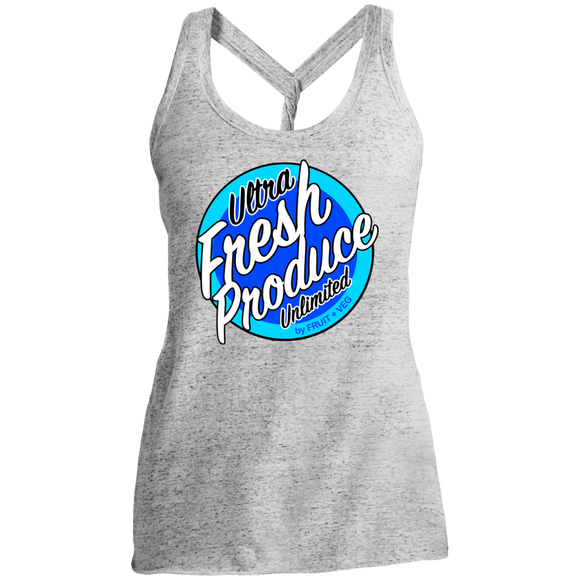 ULTRA FRESH BLUE NIGHT Ladies Twist Back Tank