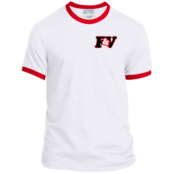 Ultra Fresh RED TAPE Ringer Tee