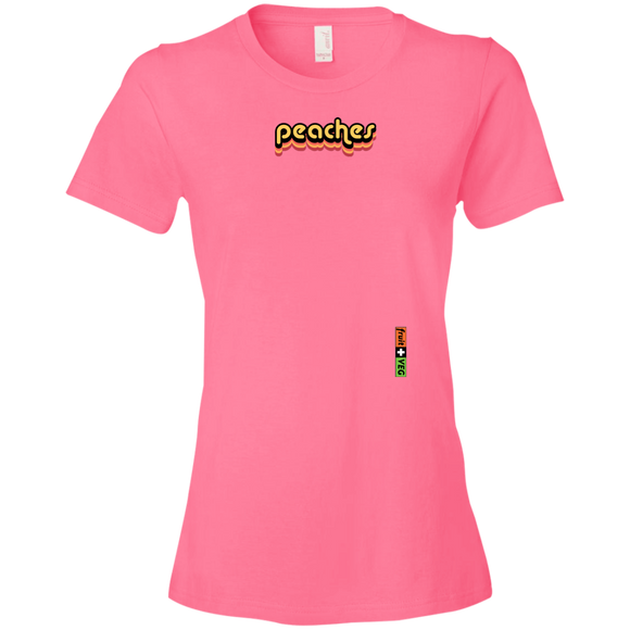 peaches women's t-shirt