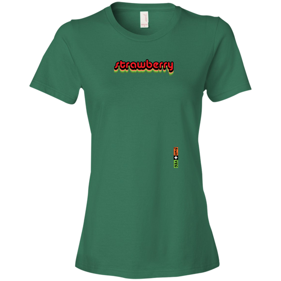 strawberry women's t-shirt