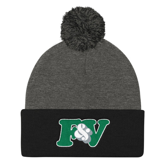 DOCKETT Pom Pom Knit Cap (Toque)