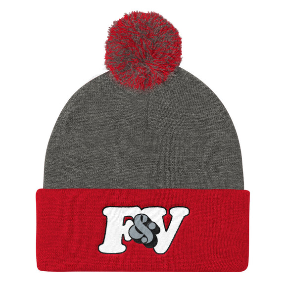 RED TAPE Pom Pom Knit Cap (Toque)