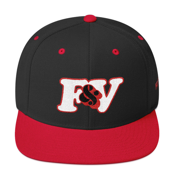 F&V RED TAPE Snapback Cap