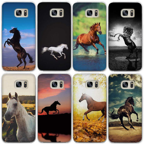 best value 9e282 8961c Samsung Galaxy Power Horse Clear Hard Phone Case Covers for Samsung ...