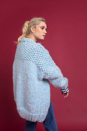 SKY BLUE CARDIGAN - This Is Mool