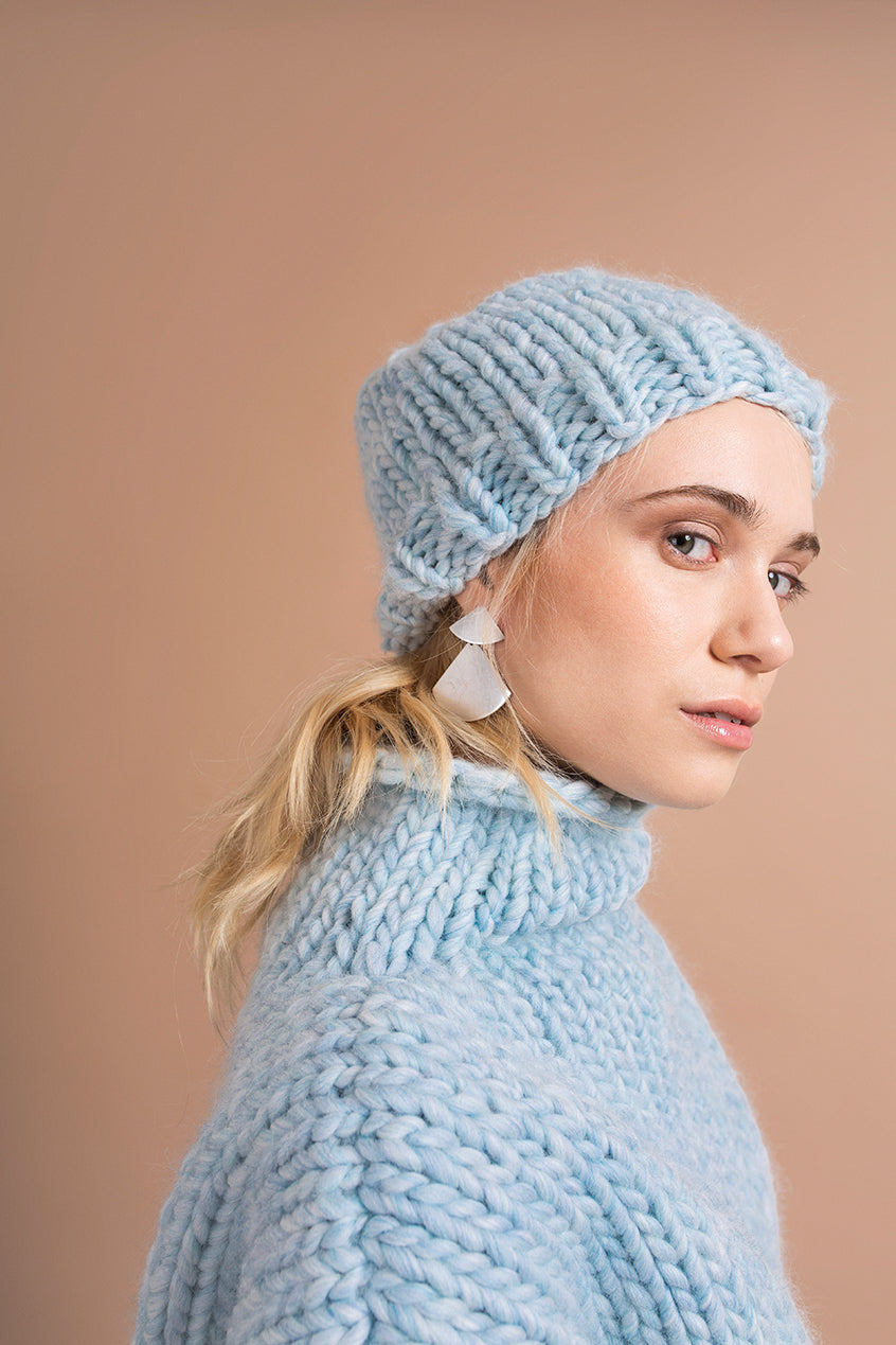SKY BLUE BEANIE - This Is Mool