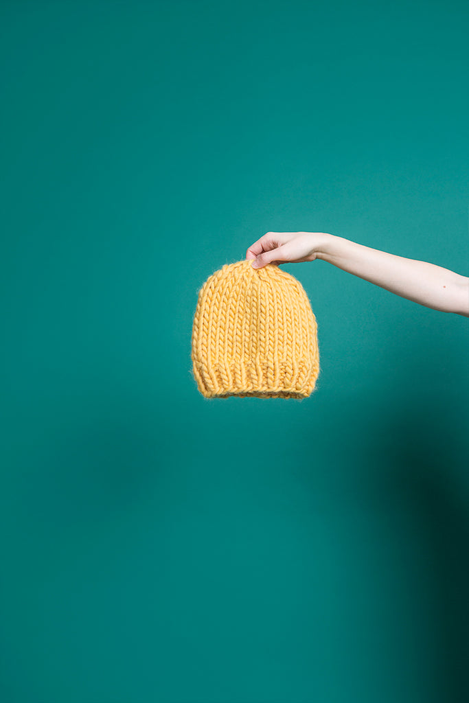 MUSTARD BEANIE - This Is Mool