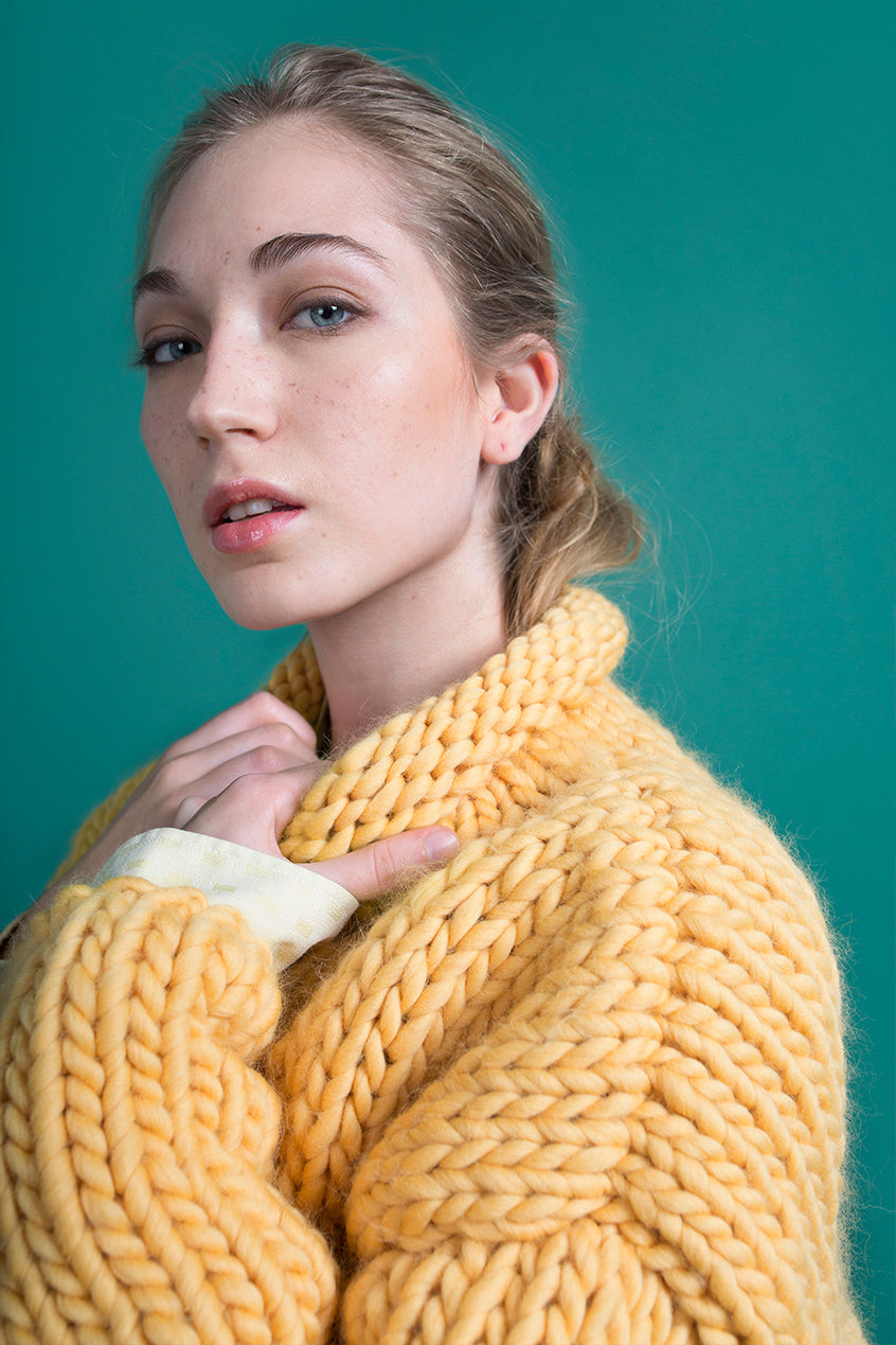 MUSTARD SWEATER - This Is Mool