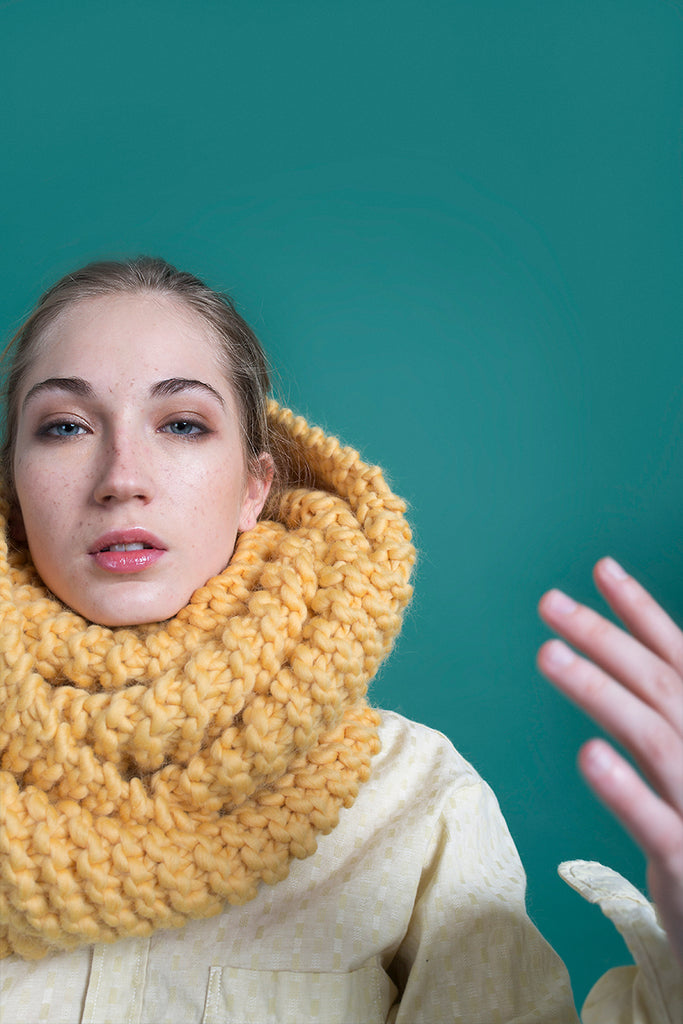MUSTARD SCARF - This Is Mool