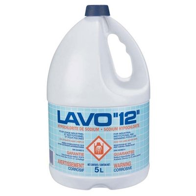 Concentrated Bleach 12% (5L)