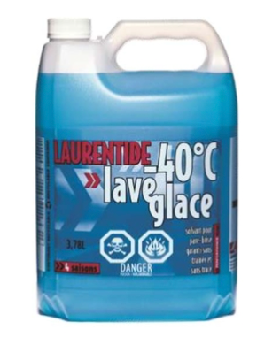 Laurentide Windshield Washer & De-Icer (3.78L)