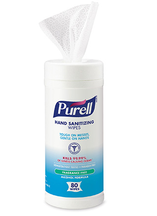 Purell Sanitizing Wipes (12 x 80/ct)