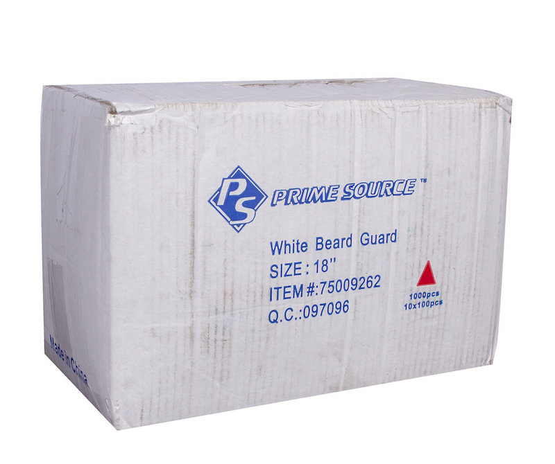 Beard Covers - White (1000/cs)
