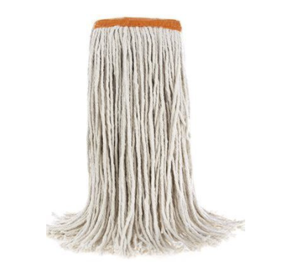 Cotton Wet Mop Cut-End - Small (16oz)