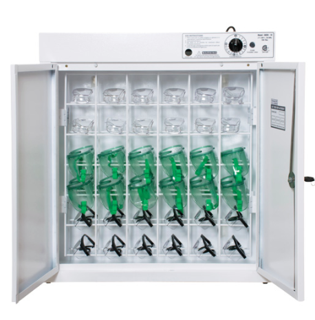 Sanitizing Cabinet for Eyewear