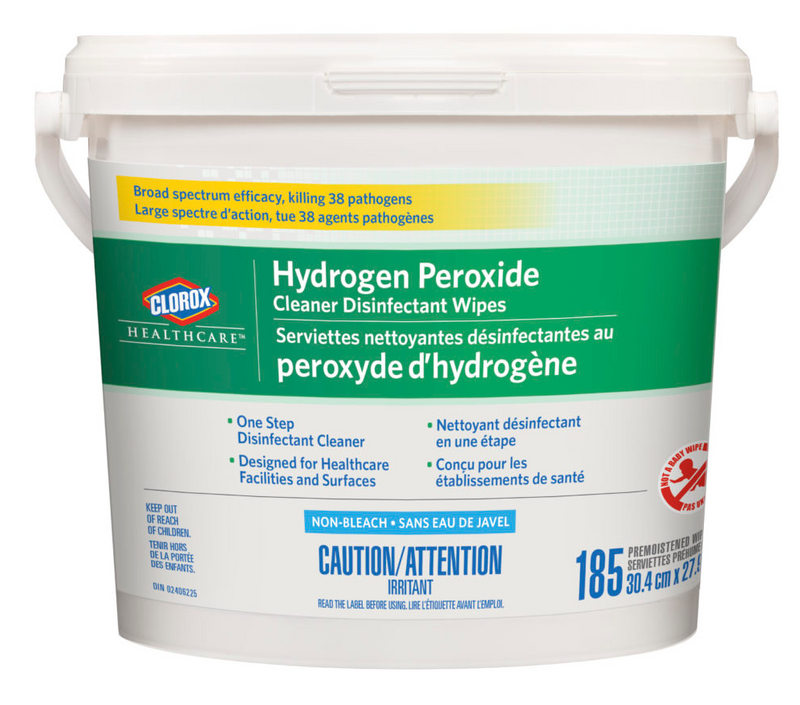 Hydrogen Peroxide Cleaner Disinfecting Wipes ( 2 x 185/ct)