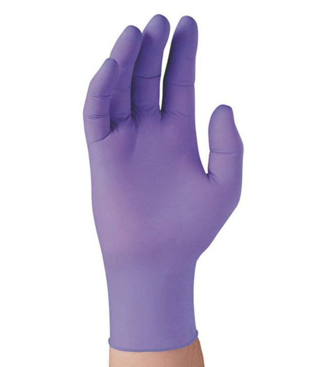 Purple Nitrile™ Exam Gloves 6-Mil - Medium (100/box)