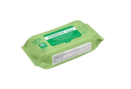 Steridol Disinfectant Wipes (80/pkg)