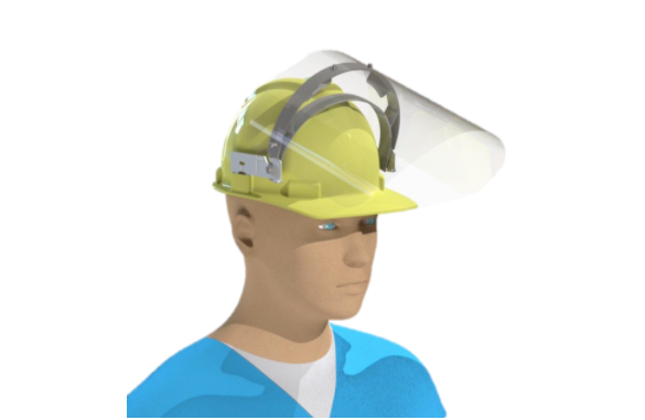 Face shield for construction (10-Pack)