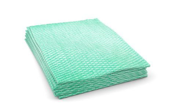 PRO Tuff-Job® economy foodservice towels 1/4 fold - Green (200ct)