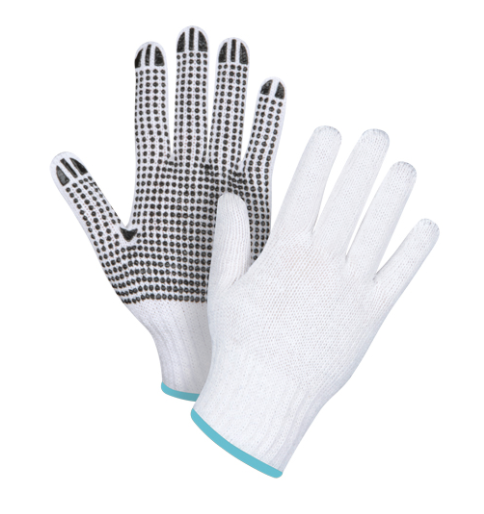 Dotted Gloves Single Sided CFIA Accepted - X-Large