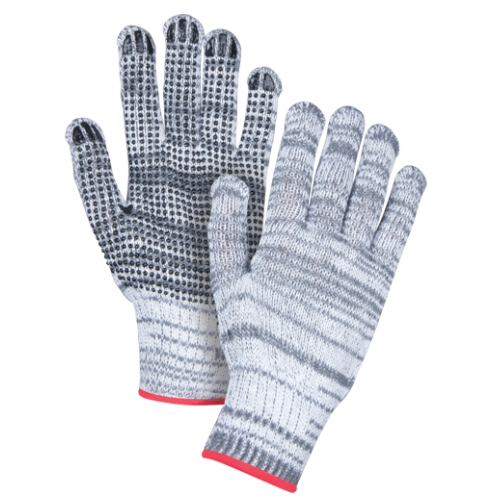 Dotted Gloves Single Sided - Small (3-Pack)