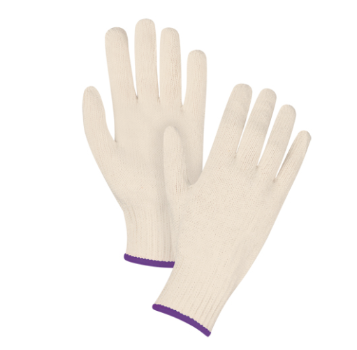 String Knit Gloves CFIA Accepted - X-Small
