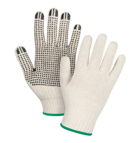 Dotted Gloves Single Sided - Medium