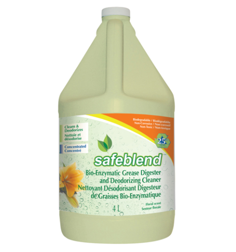 Bioenzymatic Grease Digester & Deodorizing Cleaners (4L)