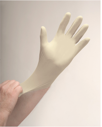 Disposable Latex Gloves Powder-Free 4-MIl - Small (100/box)