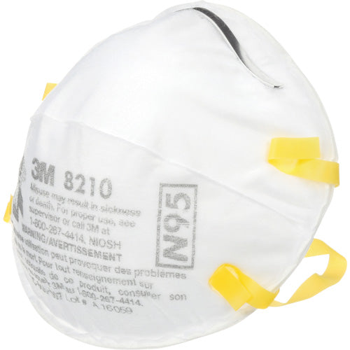 N95 - 8210 Particulate Respirators (20-Pack)